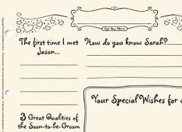 bridal shower sign in book bridal shower guestbooks guestbook store