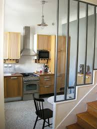 cuisine parisienne rénovation cuisine style industriel dans une maison en banlieue