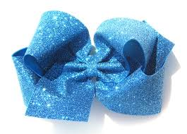 boutique hair bows large boutique glitter custom hair bow