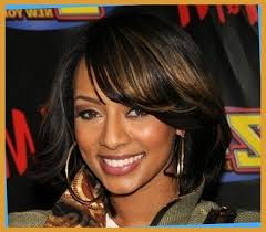 how to style meduim length african american hair african american women with shoulder length bobs hairstyles for