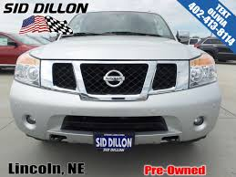 nissan armada light bar pre owned 2014 nissan armada platinum suv in lincoln 4n17278a