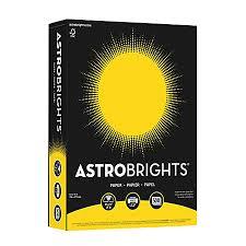 neenah astrobrights bright color paper letter size paper 24 lb fsc
