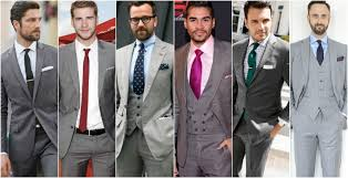 What Shirts To Wear With A Grey Suit The Idle Man