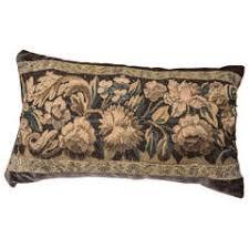 Lumbar Decorative Pillows Pair Of Mid Century Modern Graphic Lumbar Decorative Pillows For