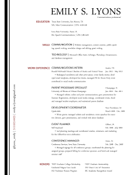 Event Planner Sample Resume Examples Of Resumes Accounting Resume Objective Statements