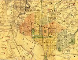 Washington Dc Monument Map by Pamela Palmer Romance Author