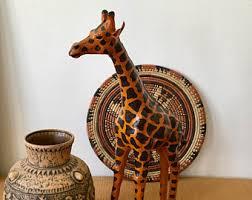 porcelain giraffe ring holder images Giraffe statue etsy jpg