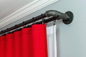diy double curtain rod integralbook com