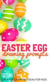 easter egg creative drawing ideas for kids handmade kids art