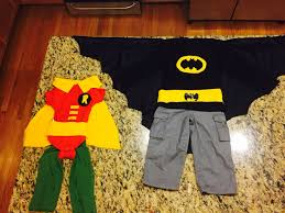 batman and robin costumes for toddler brothers halloween