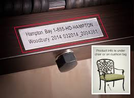 Hampton Bay Patio Furniture Replacement Parts by Hampton Bay Customer Support Troubleshooting U0026 Faq The Home Depot