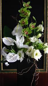 Orchid Flower Arrangements Event Flowers In Las Vegas Couture Modern Zen