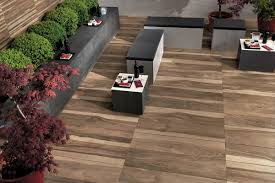 Tiling A Concrete Patio by Wood Look Tile 17 Distressed Rustic Modern Ideas