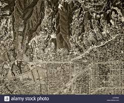 Map Los Angeles Ca by Historical Aerial Map View Above Beverly Hills Los Angeles
