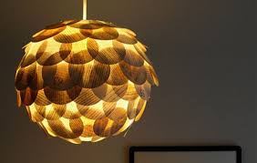 Recycled Light Fixtures Glowing Artichoke Lamps Made From Recycled Book Pages Treehugger