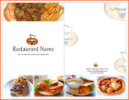 9 restaurant menu template survey template words