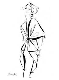 fashion illustration chic fashion design sketch art