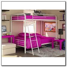 White Metal Futon Bunk Bed White Metal Bunk Bed With Futon Furniture Shop