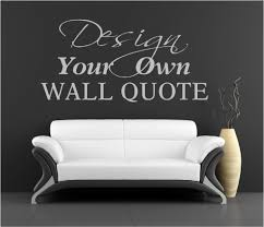 make your own quote vinyl wall art stickers custom designscustom make your own quote vinyl wall art stickers