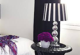 black and white striped l shade black and white striped l shades home design home design ideas