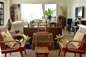 House Furniture Design In Philippines A Filipino Inspired Duplex With Antiques And Wooden Pieces Rl
