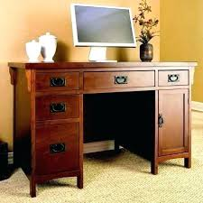 mission style computer desk craftsman style desk mission craftsman oak computer desk view images