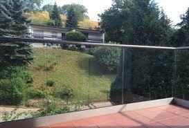 balkon glasscheiben balkongeländer mit glas komplette bausätze geländerladen de