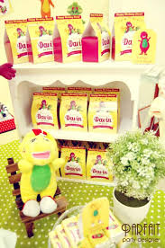 Barney Party Decorations Kara U0027s Party Ideas Barney And Friends Party Ideas Planning Idea