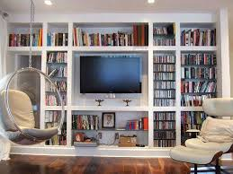 Built In Shelves Living Room Tv Bookcase Living Room Wall Units Glamorous Bookcase With Shelf