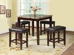 latitude run dejean 5 piece counter height dining set u0026 reviews