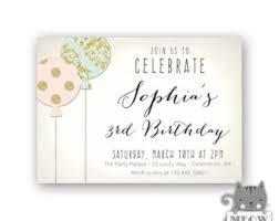 3rd birthday party etsy