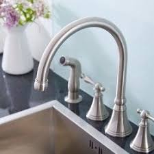 Widespread Kitchen Faucet With Spray Kitchen Faucets Kitchen Sink Faucet Collection Hudson Reed