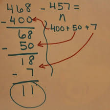 strategy based instruction in three digit subtraction students