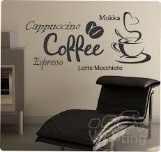 küche wandtattoo coffee kaffee wandaufkleber aufkleber küche sticker wandtattoo