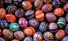 easter eggs easter egg colors around the world sensational color