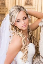 wedding hair veil half up half wedding hairstyles 50 stylish ideas for brides
