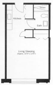 Tiny Apartment Floor Plans 609 Anderson One Bedroom E 600 Square Feet Dream Home
