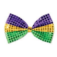 mardi gras bow glitz n gleam bow mardi gras tie caufields