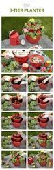 Flower Planter Ideas by Summer Flower Pot Idea Garden Flower And Solar Lighting Ideas