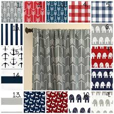 Red White Striped Curtains Best 25 Boys Curtains Ideas On Pinterest Curtain Room Divider