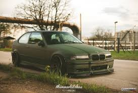 stanced toyota corolla stanced bmw 3 compact e36