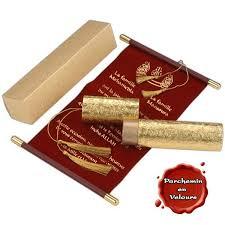 faire part mariage parchemin lot de 50 parchemins royal boites à dragées et faire parts faire