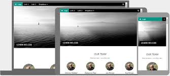 css tutorial layout template w3 css templates