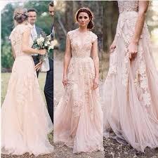 wedding evening dress charming blush pink prom dress pretty appliques evening dress