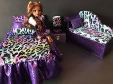 Monster High Bedroom Furniture by Monster High Bed Set Ebay