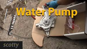 how to change a waterpump youtube