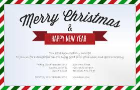 christmas lunch invitation new year lunch invitation merry christmas happy new year 2018