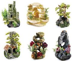 30 litre biorb ornament aquarium decoration castle ruin chimney