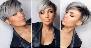 naisten hiusmallit lyhyt moderni harmaa lyhyet hiukset tyylejä nämä naiset ovat valinneet