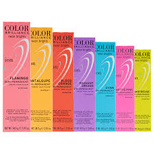 ion haircolor pucs ion color brilliance semi permanent neon brights hair color